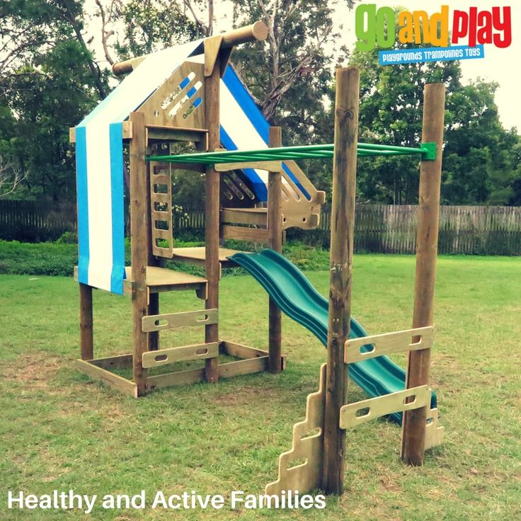 OzFort Playground With Monkey Bar, Look Out & Sleep Out