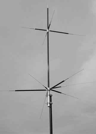 Comet Hvu 8 Compact 8 Band Vertical Base Station Antenna