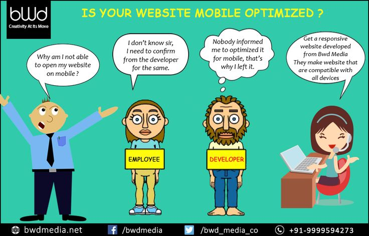 Is your #website mobile optimized? #bwdmedia click for more - https://bwdmedia.net/services/web-development/