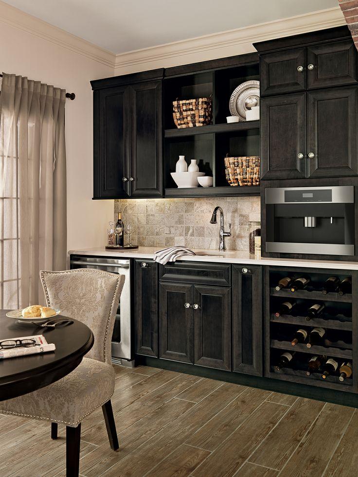 We Love These Dark Cabinets!