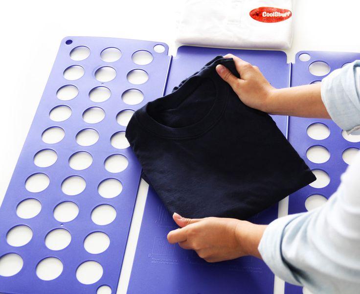 Tøjfolderen - Læg tøj sammen som arbejdede du i en tøjbutik