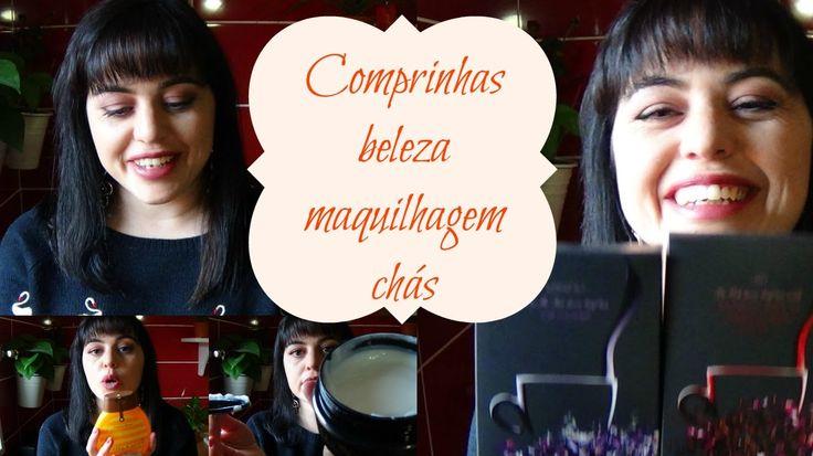 Mostro-vos neste vídeo compras que fiz online de produtos de beleza, maquilhagem e chás naturais!