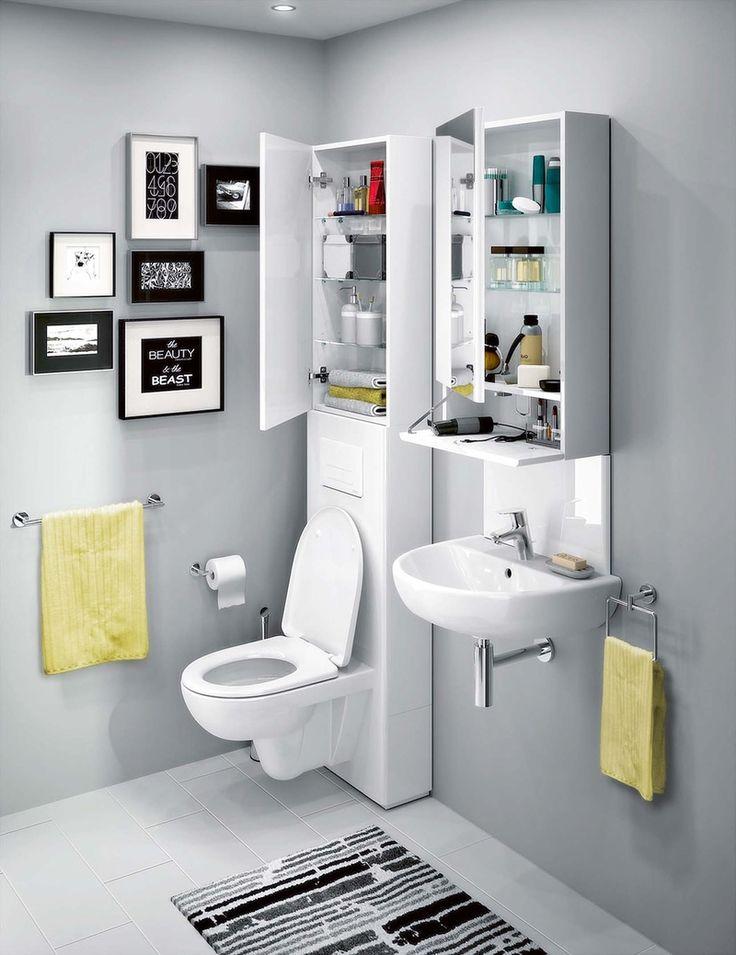 Úložné prostory patří do velké i malé koupelny – Novinky.cz
