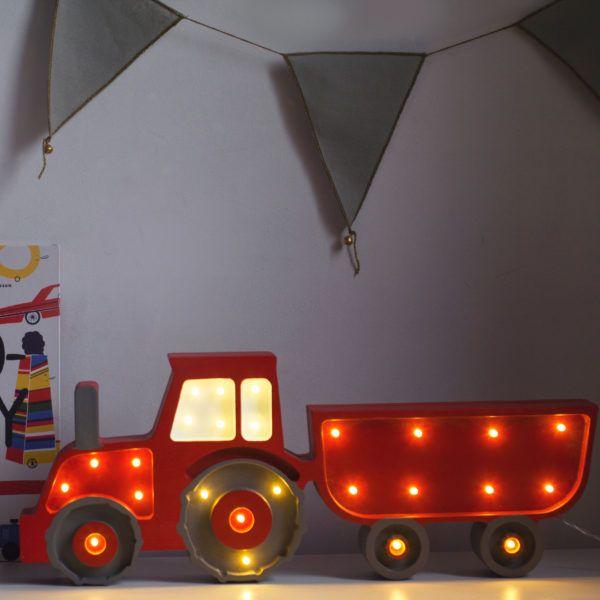 Online Shop Little Lights Lampe Traktor Kinder Zimmer
