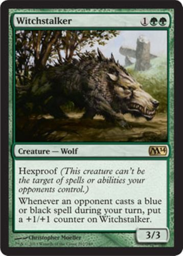 mtg Magic the Gathering Green Wolf Pack deck