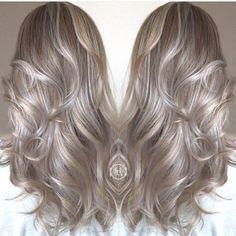 Ash hair colour