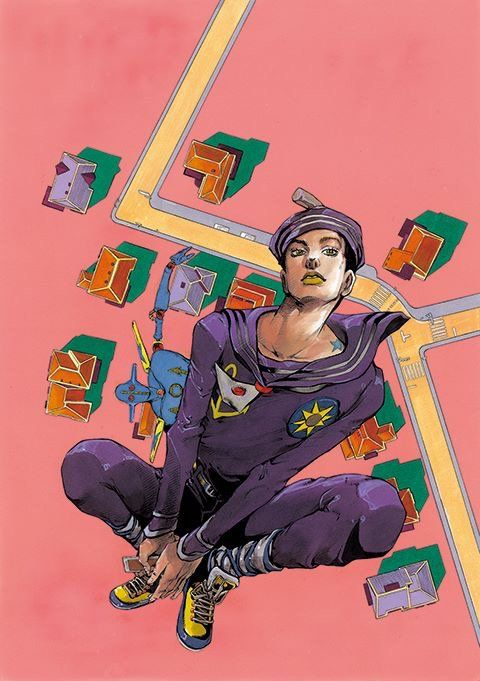 JoJo Bizarre Adventure part 8 JoJolion - Josuke ... | 480 x 681 jpeg 59kB
