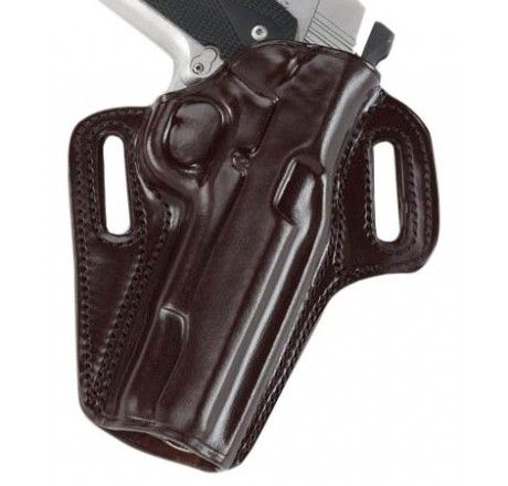 Galco Concealable Belt Holster for 1911 5-Inch Colt, Kimber, Para, Springfield (Havana, Right-hand) - CON212H