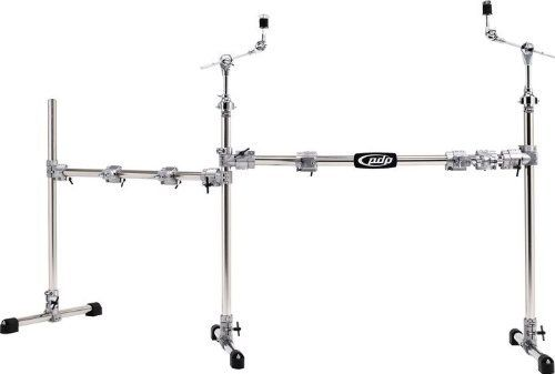 Pacific Drums by DW Chrome Over Steel Main and Side Combo Rack by Pacific Drums by DW. $429.99. Pacific Drums by DW Chrome Plated Main and Side Drum Rack Package. Save 44%!