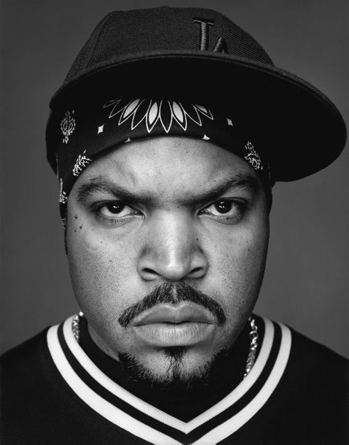 Ice Cube. Bitch face level perfection. But stahp with the family movies.