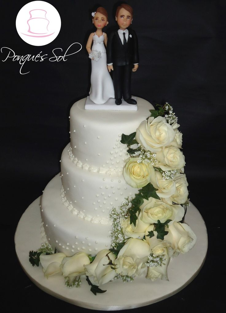 Ponqué / Torta de matrimonio. Wedding cake