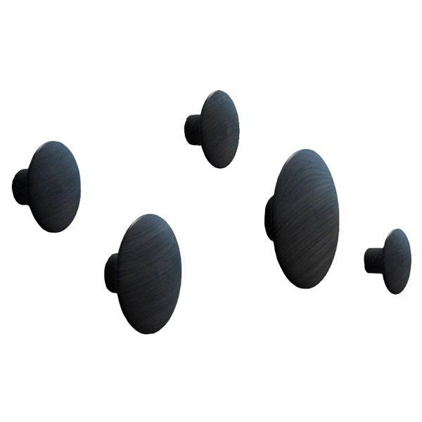 The Dots ripustimet, musta