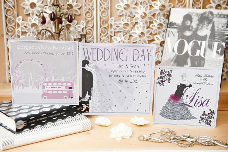 Personalised cards for (almost) every occasion. http://www.fivedollarshakepersonalise.com/