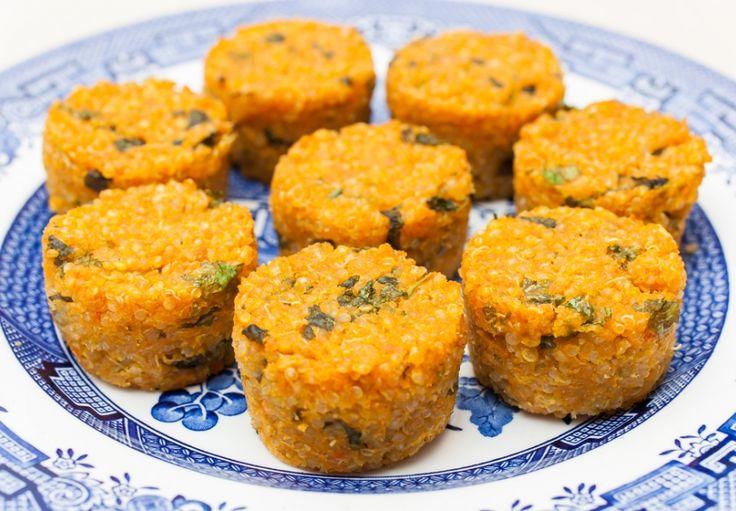 Quinoa muffiny s cuketou