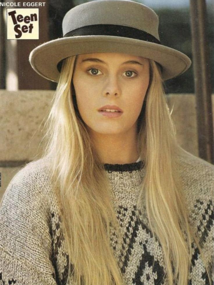 Nicole Eggert, long hair