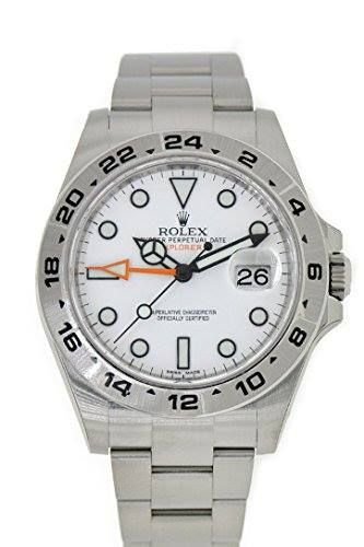 http://ift.tt/2rWaiVe Check Price https://goo.gl/UV7lDY  Rolex Explorer II White Dial Stainless Steel Men's Watch 216570                            Stainless steel case with a stainless steel oyster bracelet. Fixed stainless steel bezel with 24 hour markings. White dial with silver-tone hands and dot hour markers. Minute markers around the outer rim. Dial Type: Analog. Luminescent hands and markers. Date display appears at the 3 o'clock position. Automatic movement. Scratch resistant…