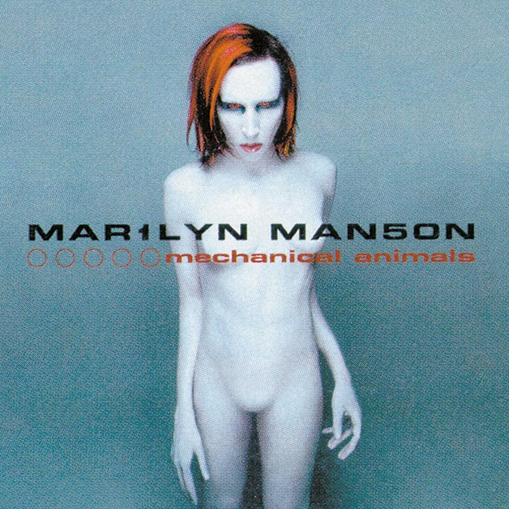 Marilyn Manson - Mechanical Animals | Album Covers | Pinterest