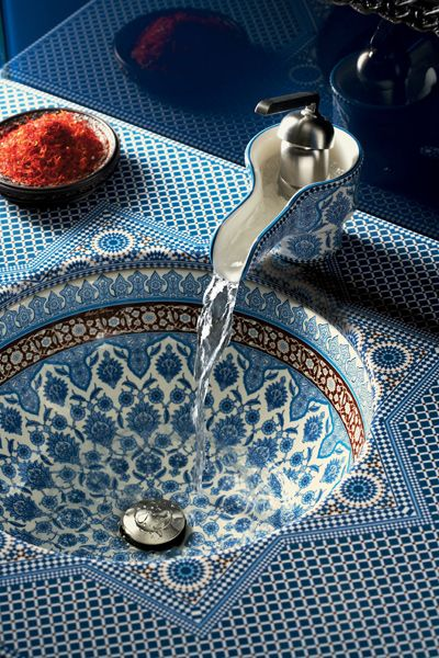 Marrakesh ceramic washbasin by Kohler Designs | www.kohlerco.de