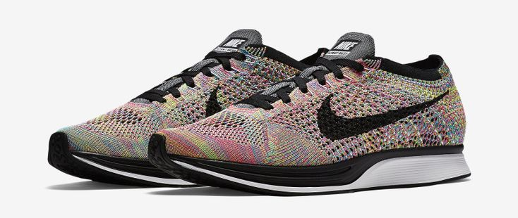 Official Look At The Nike Flyknit Racer Multicolor 2016