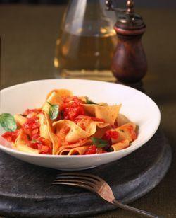 Il Mulino's Legendary Pappardelle with Tomato & Basil
