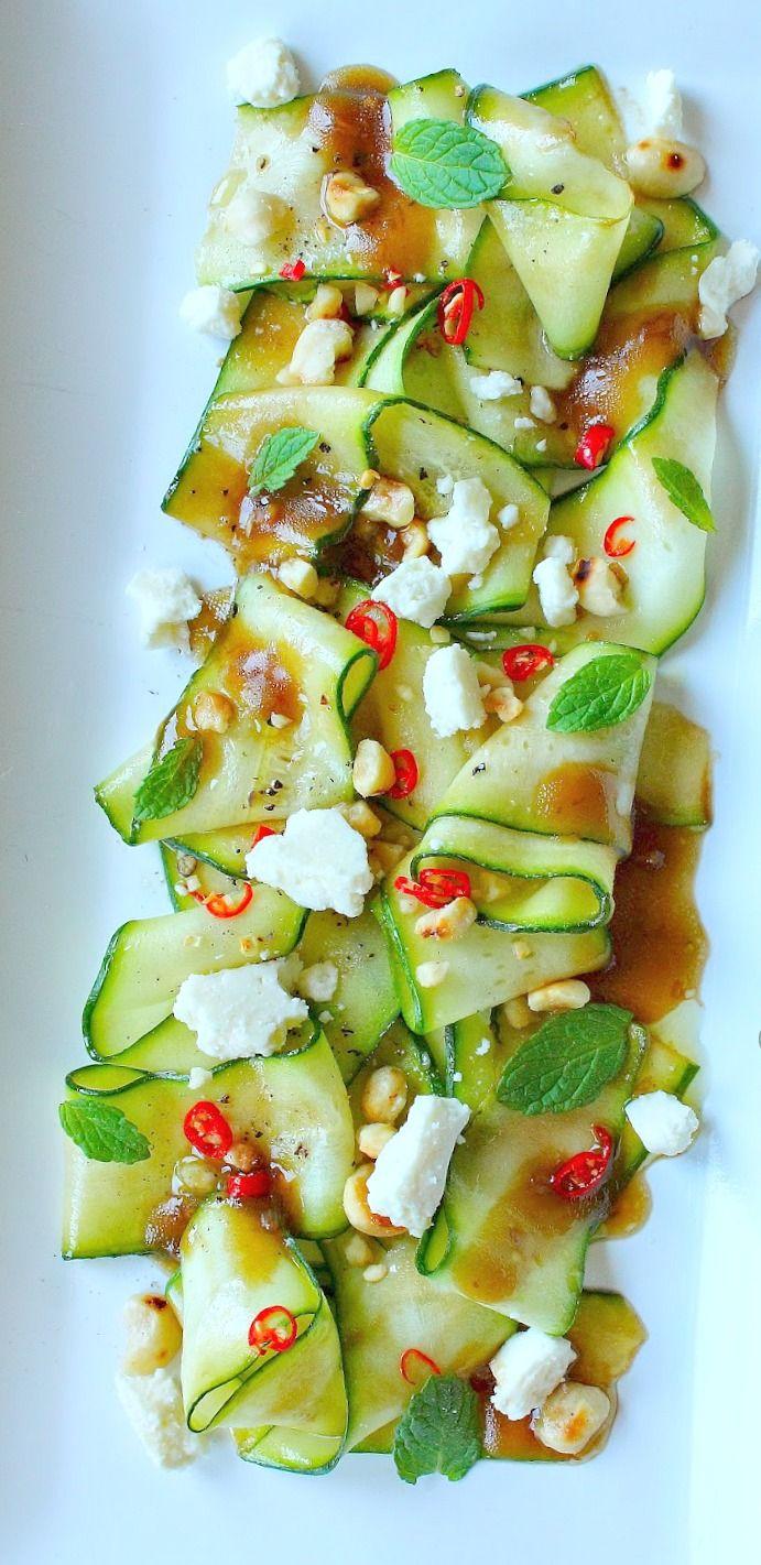 #Zucchini #Carpaccio