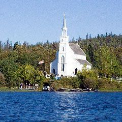 Holy Trinity Anglican Church, Stanley Mission Saskatchewan