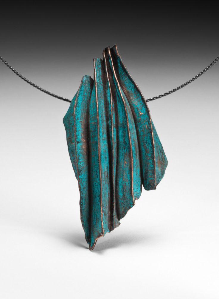 OceanBlue Pendant - by Sandra Zacharia, artjewelsz