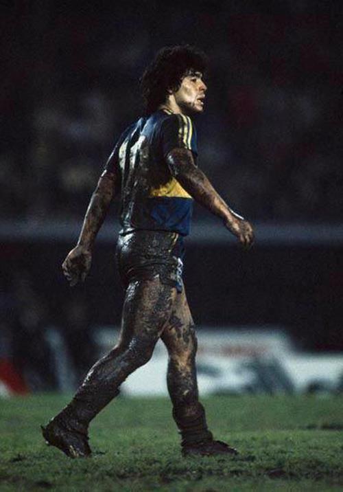Maradona, Boca Juniors.