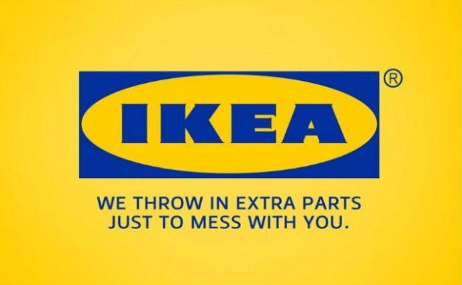 IKEA. Brutally Honest Brand Name Slogans – BoredBug