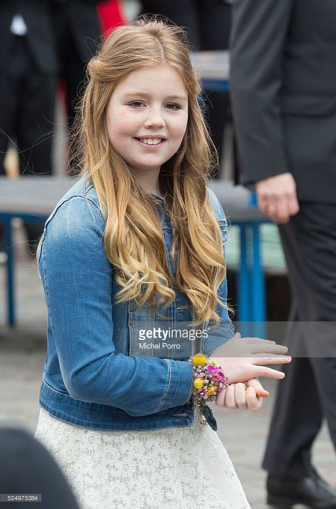 Princess Alexia of The Netherlands attends celebrations marking the 49th birthday of the King on King's Day on April 27, 2016 in Zwolle, Netherlands.