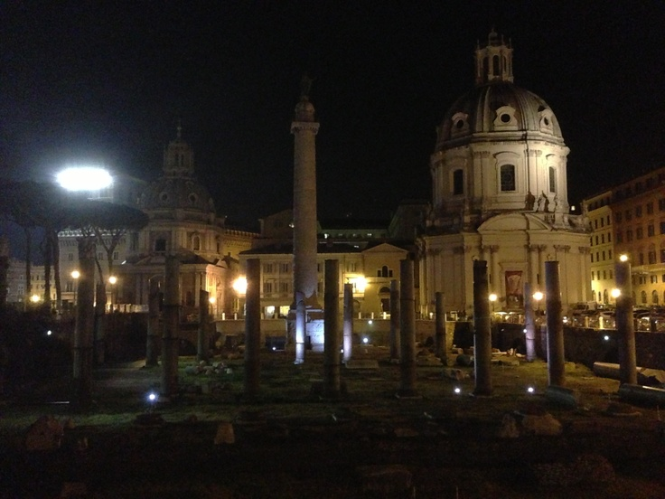 Colonna Traiana e Basilica Ulpia