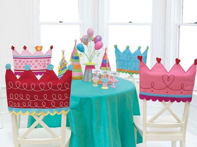 Оформление помещения на день рождения в стиле принцессы