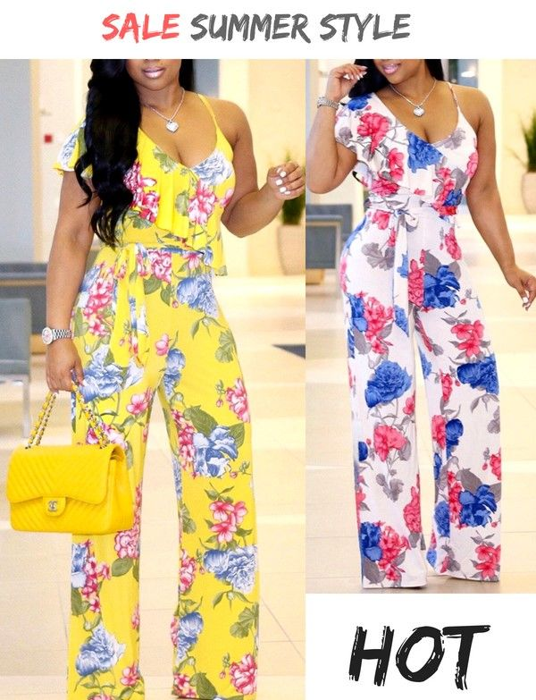 f68aec3e185 Stand out this summer for all the right reasons with floral print patterns!  Shop the different styles in sizes for any body shape – visit WhatWears.com  ...