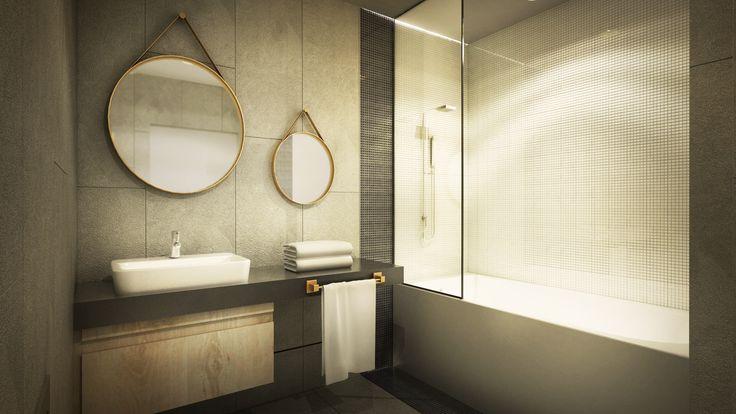 Apartament, łazienka