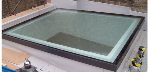 Fire proof skylight GV Rated Flushglaze GLAZING VISION
