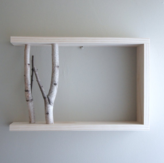 White Wood Shelves : ... Wood, Wood Photo, Wall Shelves, White Birches, Wood Shelves, Wood Wall