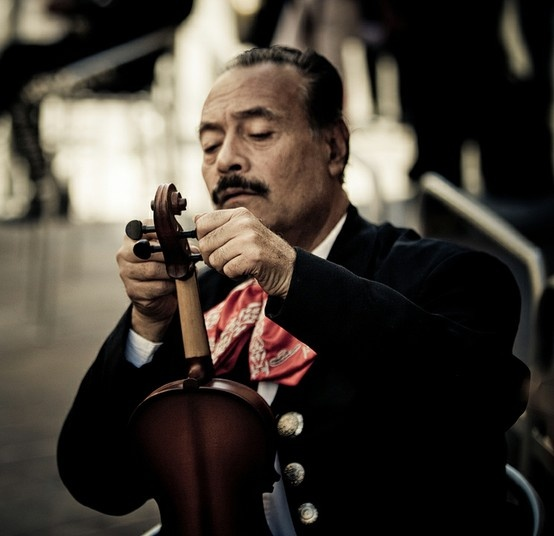 The dignity of a long lived tradition portrayed by Duncan A. Smith - the Mexican Mariachis.