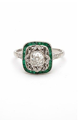 Kamofie Going Green Ring, $6,500, available at Kamofie. #refinery29 http://www.refinery29.com/55367#slide-10