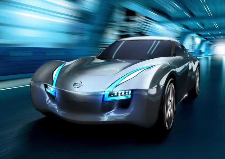 Nissan ESFLOW Concept - a pure EV sports car concept. ESFLOW looks like a sports car, handles like a sports car and performs like one too