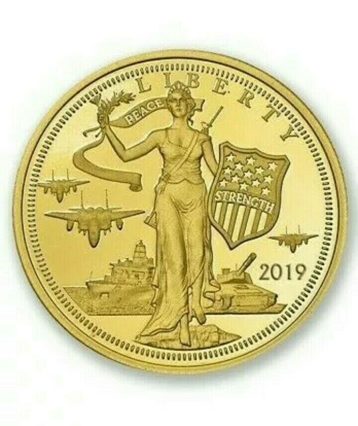 5 Peace Strength Liberty 24 Gold 1 10 Oz Proof Coin Ebay In 2020 Proof Coins Coins Eagle Coin