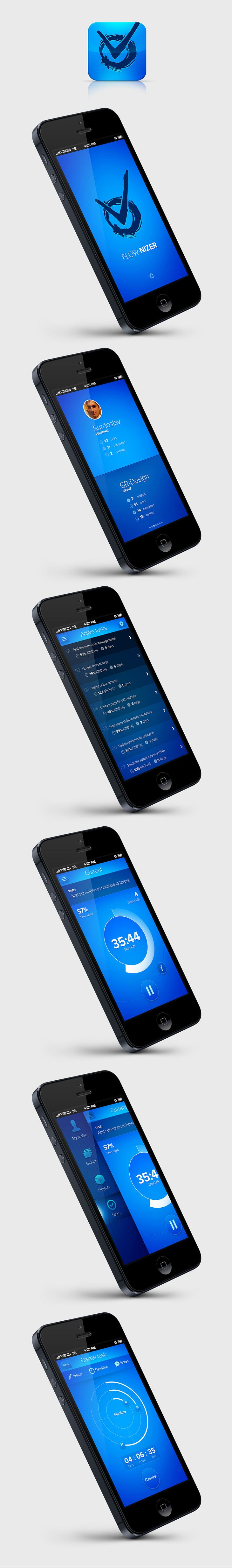 FLOW.NIZER concept app