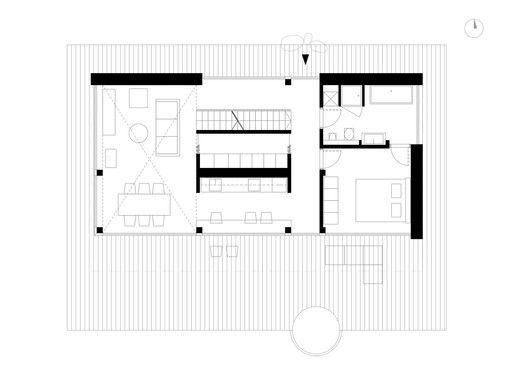 House In Trakai,Ground Floor Plan