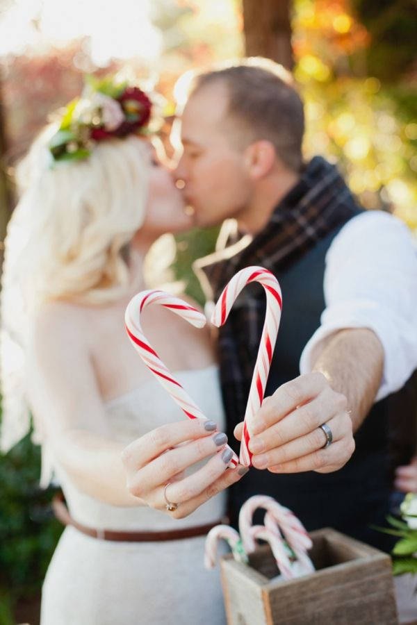 Rustic Christmas Wedding Ideas - Heart Love Weddings