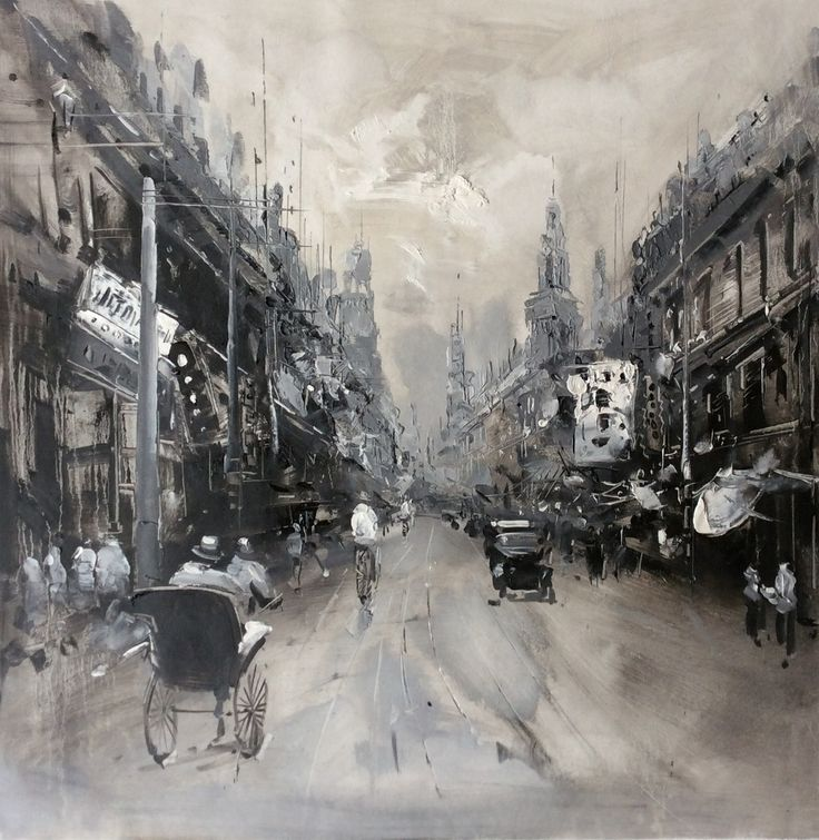 old shanghai painting