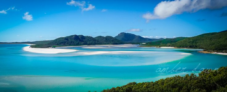 Beauty at its finest.  Whitehaven Beach, Australia.  Amber Dawn Photography | Travel photography | Trinidad and Tobago photographer.