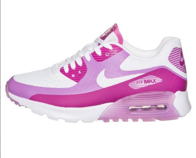dd8f812d66f Nike Sportswear AIR MAX 90 ULTRA BREATHE Baskets basses white pink purple -  Zalando - Ventes-pas-cher.com