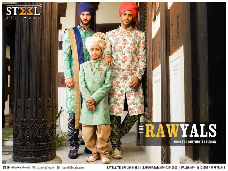 Indo-western signifies elegance & style!  Shop more of such inspiration TODAY only at Steel All Male  #SteelAllMale #IndoWestern #GroomWear #GroomSquad #RoyalLook #RoyalAttire #Style #Fashion #Elegance #Style #Pagri #Mojri #Dupatta #Mala #WovenTrousers #Bespoke #Attirs
