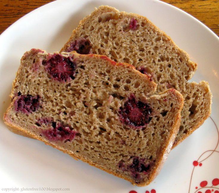 BLACKBERRY RECIPES   Gluten Free Blackberry Bread Recipe