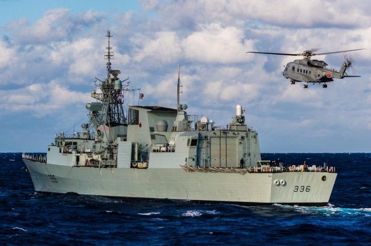 Royal Canadian Navy's HMCS Montréal begins first deployment as X-Ship