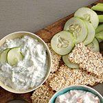 Cucumber and Dill Dip Recipe | MyRecipes.com